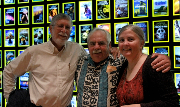 Dick & Natalie with Jack at Nat Geo